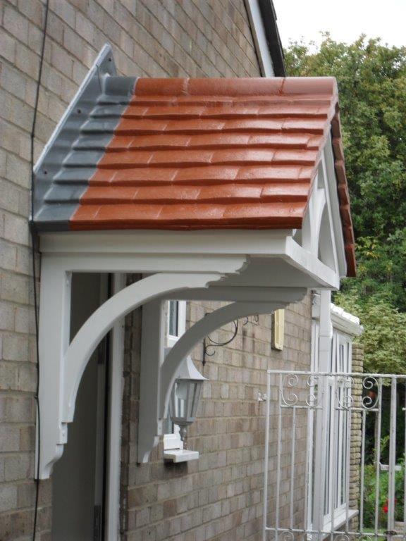 over door canopies elglaze ltd. Black Bedroom Furniture Sets. Home Design Ideas