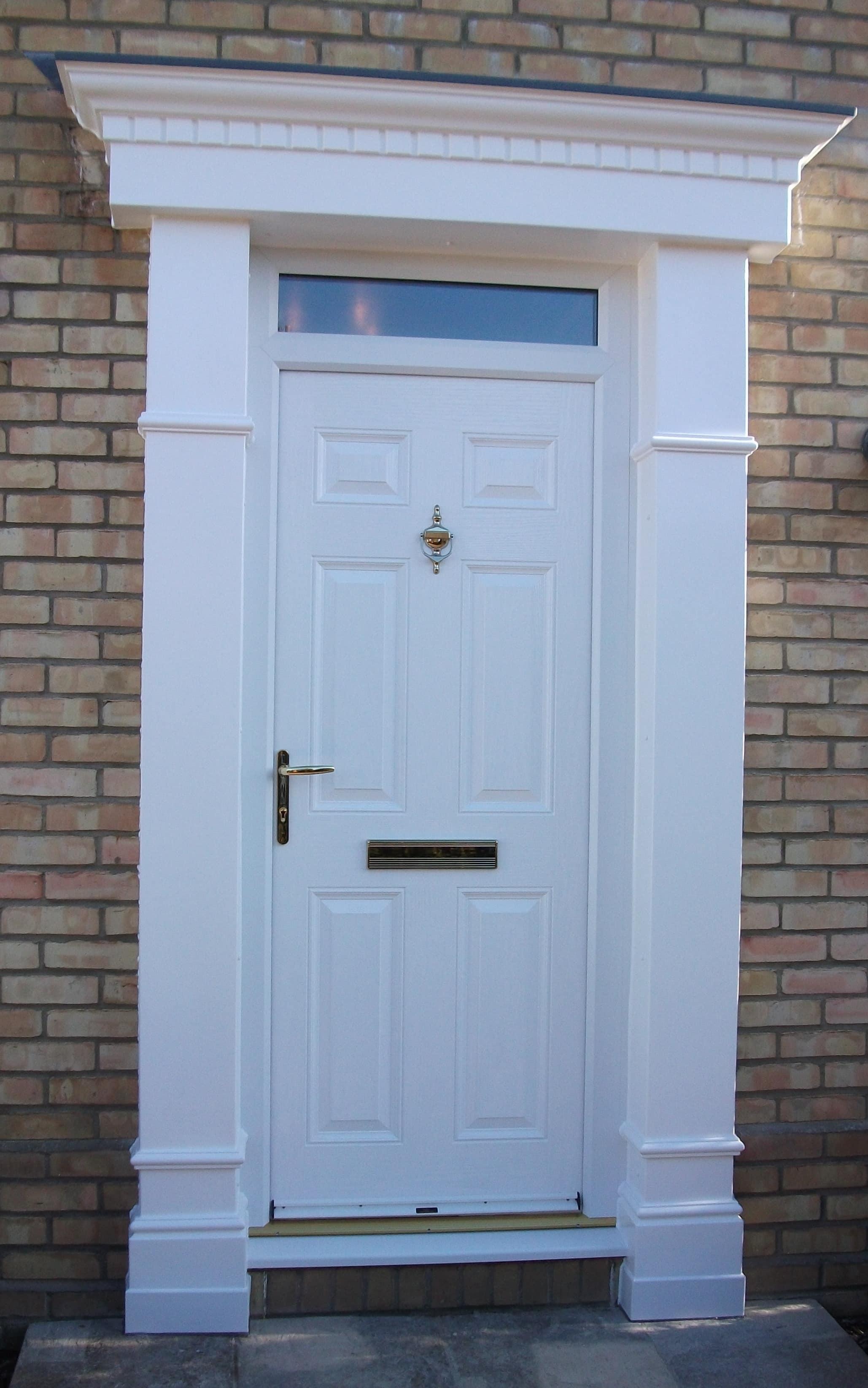 Door Surrounds Available From Elglaze Ltd