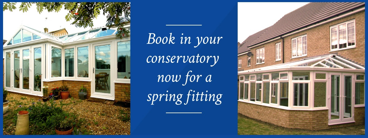 Book now for a spring 2017 conservatory