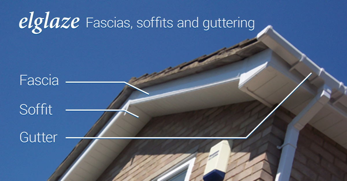 fascias, soffits and guttering visual explanation