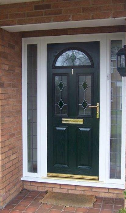 Green composite Door & uPVC Doors in a Range of Colours and Styles - Elglaze Ltd