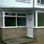 T Shaped Porch