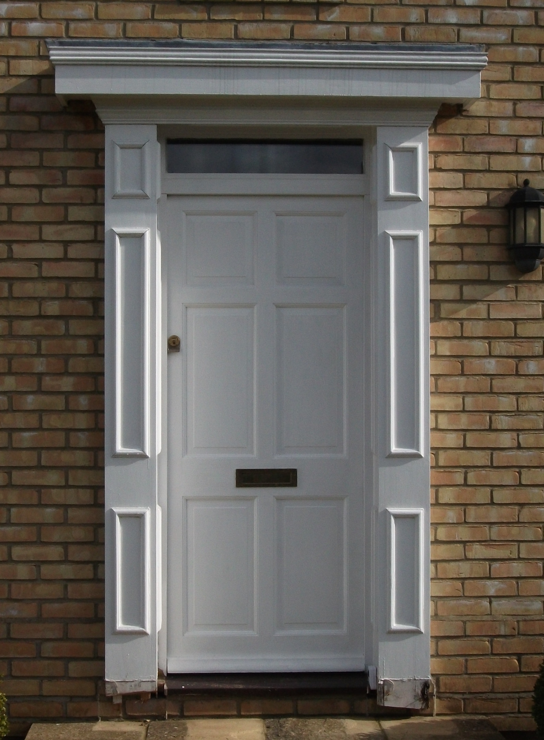 Georgian Door Surrounds & Door Surrounds Available From Elglaze Ltd