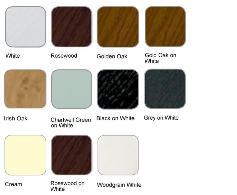 Coloured Door Options