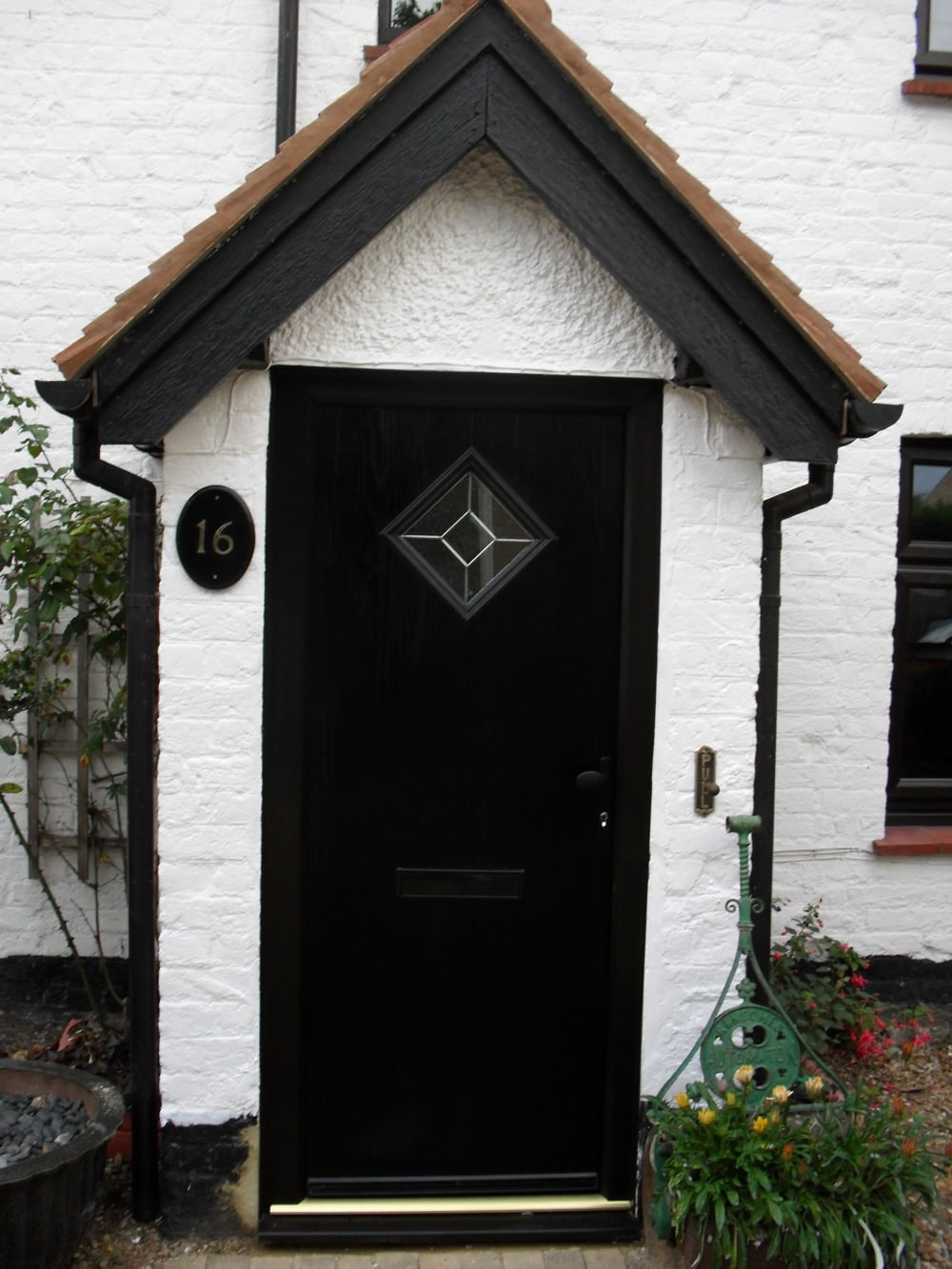 black door & Coloured Doors Available From Elglaze Ltd.
