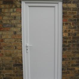 plain white Standard Door 10