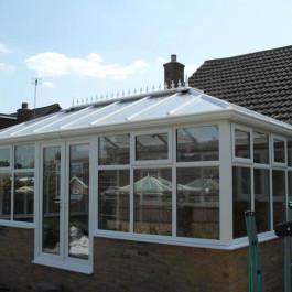 white conservatory