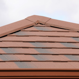 equinox roof red tiles