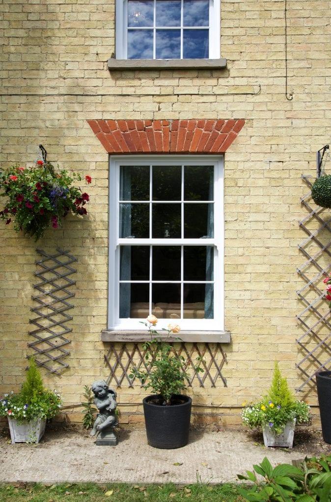 Fruit Farm - Back Sliding Sash Window After