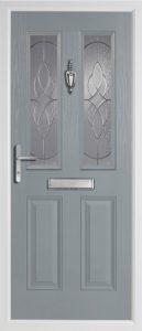 Birch Mid Grey door