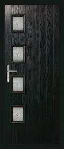 Maple Black doors