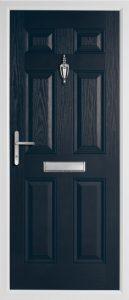 Oak Solid Anthracite Grey door