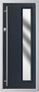 Pine Anthracite Grey Stippled door