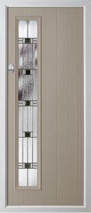 Pine French Grey Aspen door