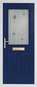 willow blue door