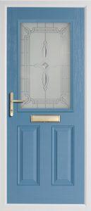 Willow Duck Egg Blue door